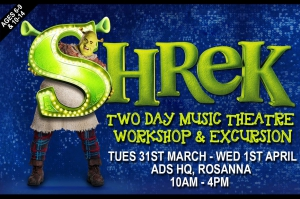 Shrek: The Musical: Holiday Workshop coming this April